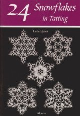 9788778470522 Bjorn Lene - 24 Snowflakes in Tatting