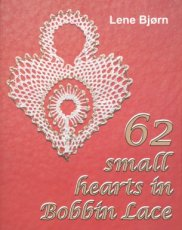 9788778471062 Bjorn Lene - 62 small hearts in bobbin lace