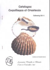 Bouvot Claudette - Catalogue coquillages et crustaces
