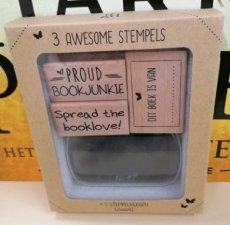 X-00039 Stempelset - Stamp the booklove!